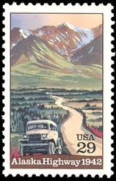This 29-cent USA stamp was issued in 1991.