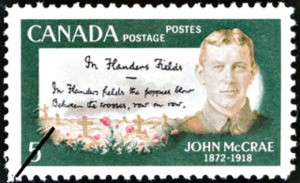 This stamp (CSN # 487) was issued in 1968, 50 years after McRae's death.