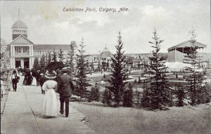 The Bloom Bros. issued this postcard showing Exhibition Park in 1912.