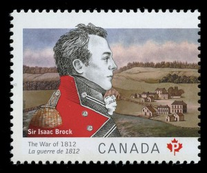In similar fashion, a right-facing portrait of Brock graces this Permanent-rate stamp.