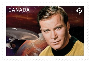 On April 6, Shatner was commemorated on this stamp featuring U.S.S. Enterprise Captain Kirk.