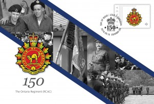 The Ontario Regiment (RCAC) - Commemorative Envelope