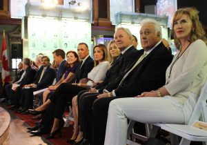 The unveiling ceremony took place Sept. 23 at