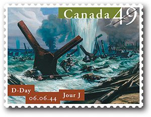 OTD: 75th anniversary of D-Day - Canadian Stamp News